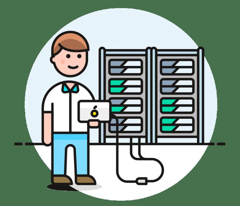 Webhosting og vedligeholdelse